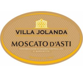 Villa Jolanda - Moscato d'Asti label