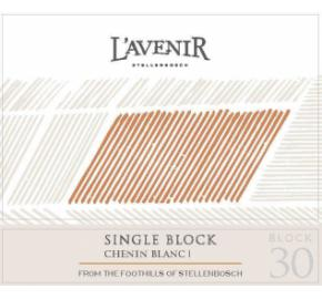L'Avenir - Single Block Chenin Blanc label