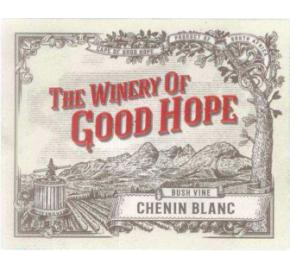 The Winery of Good Hope - Bush Vine Chenin Blanc label