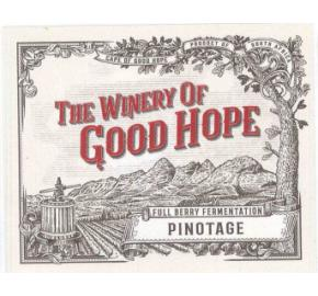 The Winery of Good Hope - Full Berry Pinotage label