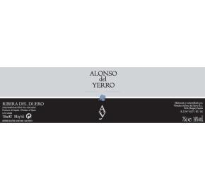 Alonso del Yerro label