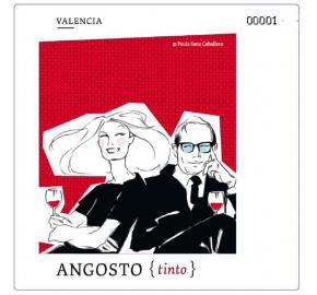 Angosto label