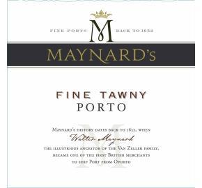 Maynard's - Fine Tawny Porto label