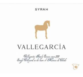Vallegarcia - Syrah label