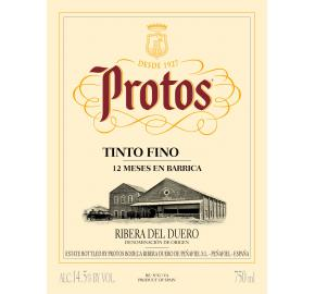 Protos - Tinto Fino label