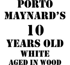 Maynard's 10 Years Old White Port label