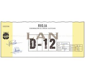 LAN - D-12 Crianza label