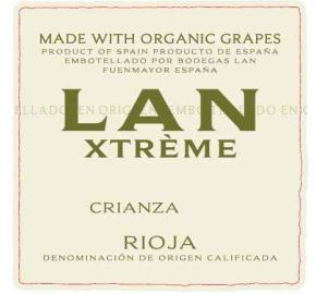 LAN - Xtreme - Crianza-Tempranillo label