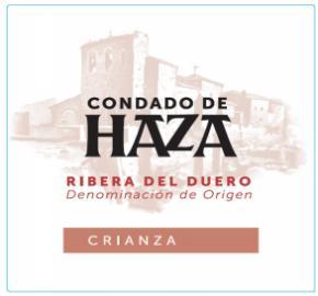 Condado De Haza Crianza label