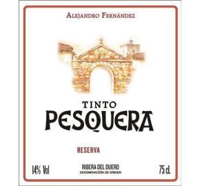 Tinto Pesquera Reserva label