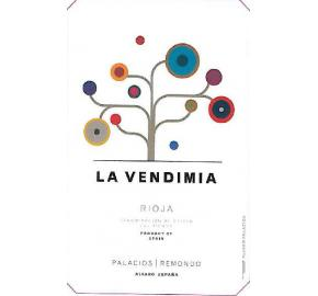 Palacios Remondo - La Vendimia label