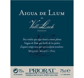 Vall Llach - Aigua De Llum (Viognien) label