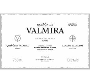 Alvaro Palacios - Quinon de Valmira label