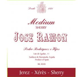 Pedro Rodriguez E Hijos - Jose Ramon - Medium Sherry label