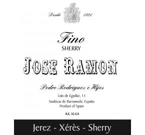 Pedro Rodriguez E Hijos - Jose Ramon - Fino Sherry