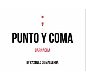 Castillo de Maluenda - Punto Y Coma - Old Vines label