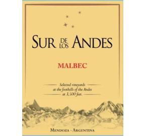 Sur de los Andes - Malbec