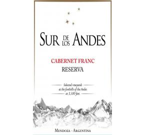 Sur de Los Andes - Cabernet Franc Reserva label