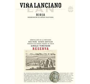 Bodegas LAN - Vina Lanciano - Reserva