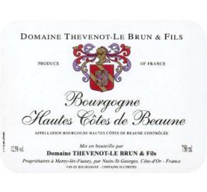 Domaine Thevenot-Le Brun & Fils - Bourgogne Hautes - Red