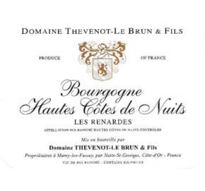 Domaine Thevenot-Le Brun & Fils - Les Renardes