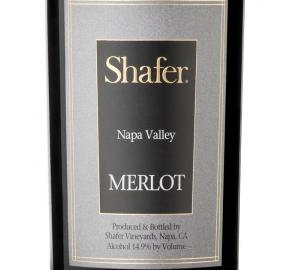 Shafer - Napa Valley - Merlot