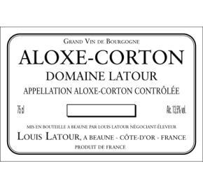 Louis Latour - Domaine Latour - Aloxe-Corton