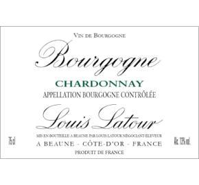Louis Latour - Chardonnay label