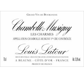 Louis Latour - Chambolle-Musigny les Charmes