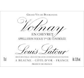 Louis Latour - Volnay 1er Cru En Chevret