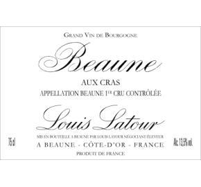 Louis Latour - Beaune 1er Cru Aux Cras