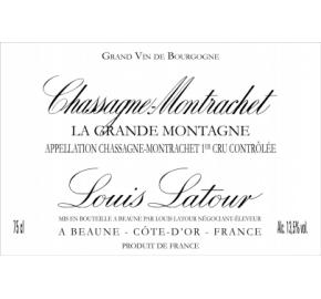 Louis Latour - Chassagne Montrachet 1er Cru La Grande Montagne