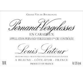 Louis Latour - Pernand-Vergelesses - 1er cru Caradeux
