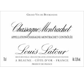 Louis Latour - Chassagne-Montrachet - Red