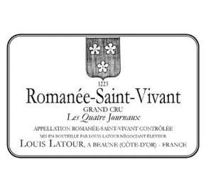 Louis Latour - Romanee St Vivant - Les Quatre Journaux