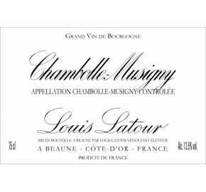 Louis Latour - Chambolle-Musigny label