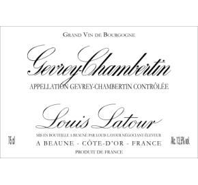 Louis Latour - Gevrey-Chambertin