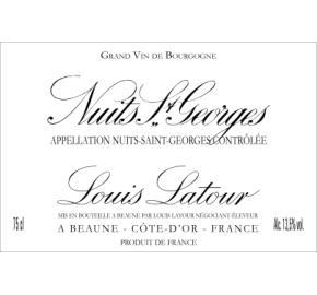 Louis Latour - Nuits St Georges