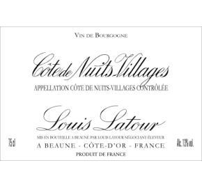 Louis Latour - Cote De Nuits-Villages
