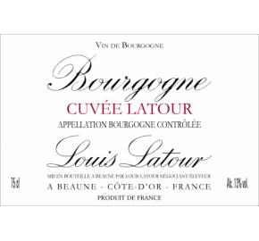 Louis Latour - Bourgogne - Cuvee Latour - Rouge label