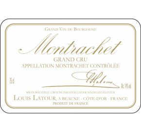 Louis Latour - Montrachet Grand Cru