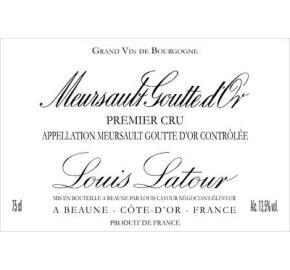 Louis Latour - Meursault Goutte D'Or 1er Cru