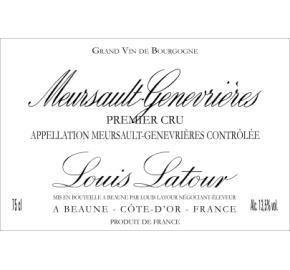 Louis Latour - Meursault Genevrieres 1er Cru