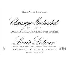 Louis Latour - Chassagne-Montrachet - Cailleret