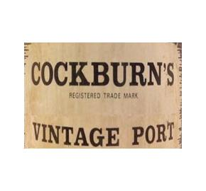 Cockburn's - Vintage Port label