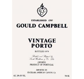 Gould Campbell Port label