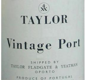 Taylor - Vintage Port label